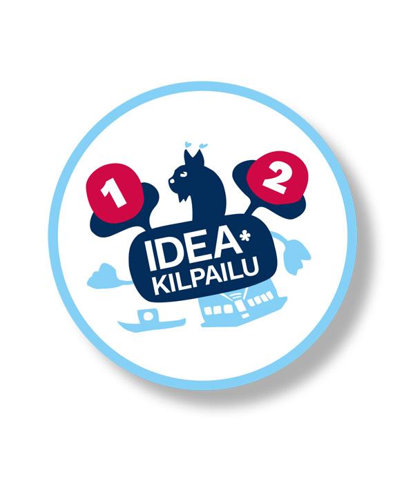 Heinolan Ideakilpailun tunnus.