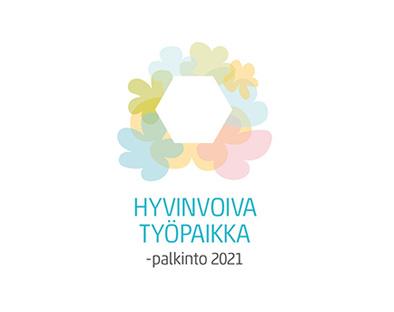 Talentian HYvinvoiva työpaikka -kilpailun logo.