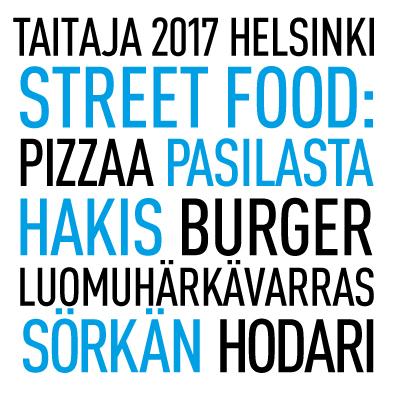 Yksityiskohta Taitaja2017 Helsinki -tapahtuman materiaalista.