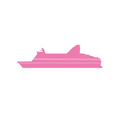Taitaja2017 Helsinki -tapahtuman maamerkki-ikoni: laiva.