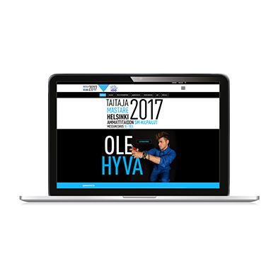 Taitaja2017 Helsingin verkkosivut.