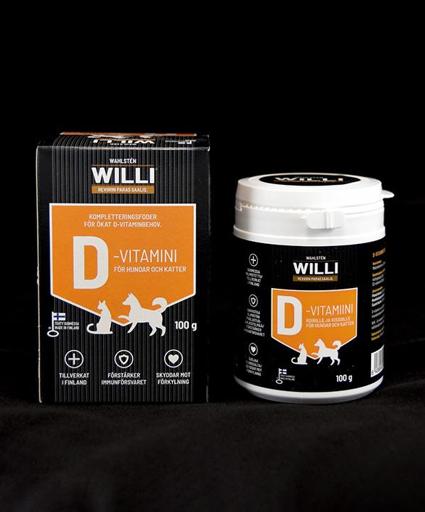 Willi D-vitamiinipakkaus