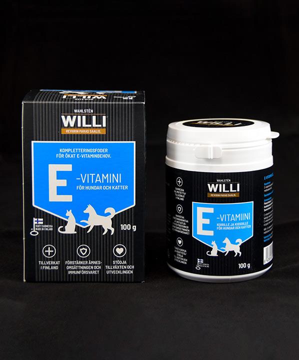 Willi E-vitamiinipakkaus