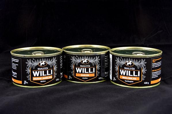 Willi säilykepurkit.