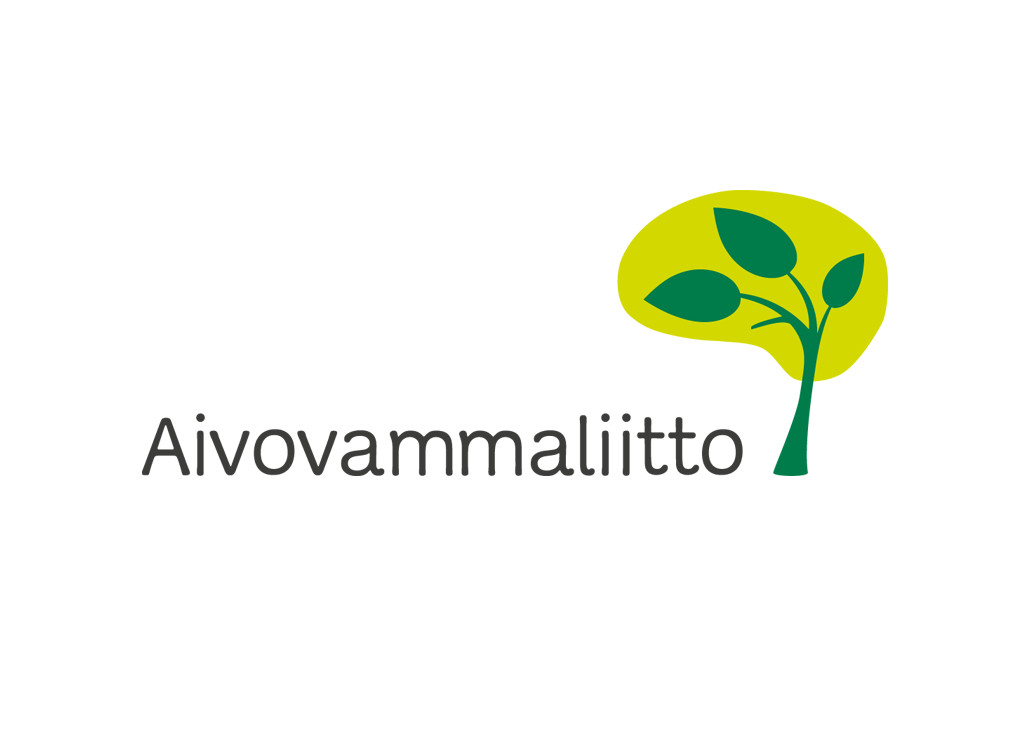 Aivovammaliiton logo.