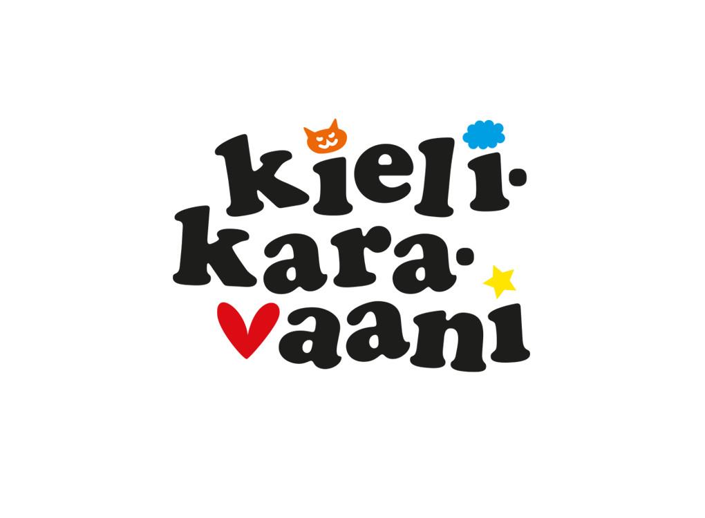 Euroopan kieltenpäivän Kielikaravaani -tapahtuman logo.