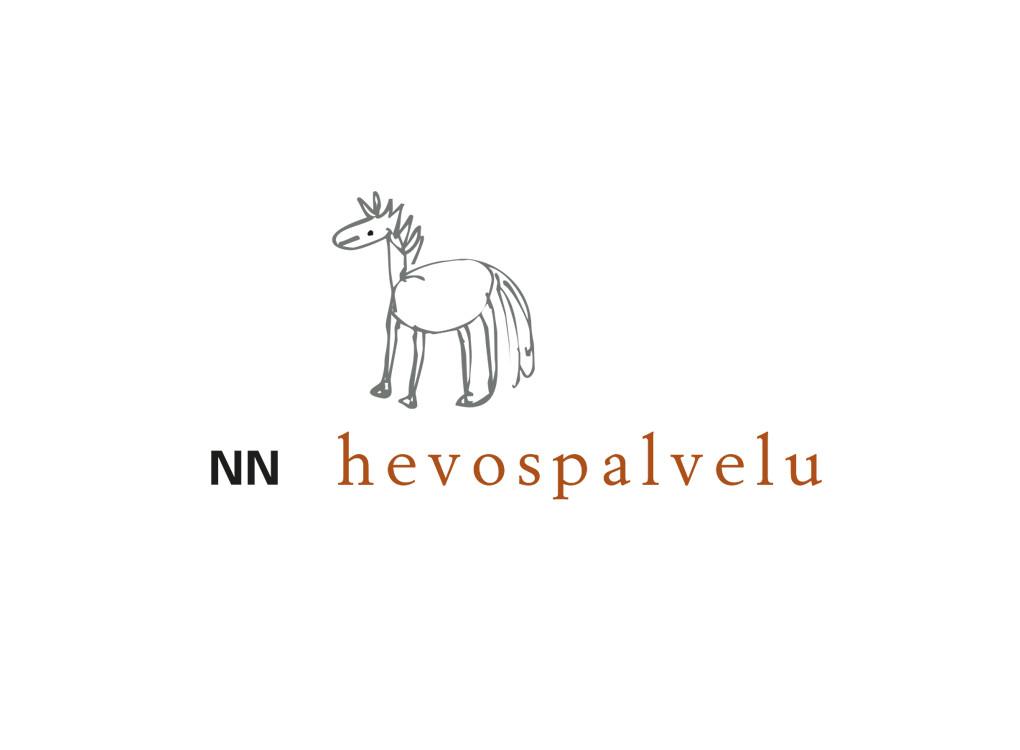 NN Hevospalveluiden logo.