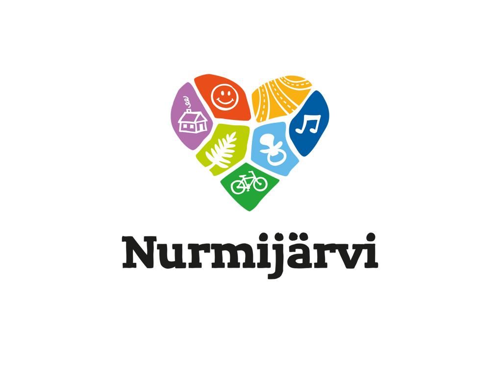 Nurmijärven kunnan markkinointilogo.
