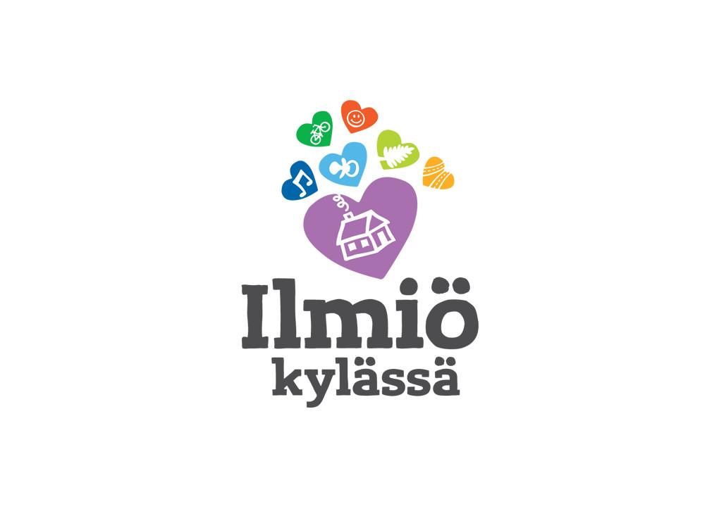 Nurmijärven kunnan Ilmiö kylässä -logo.