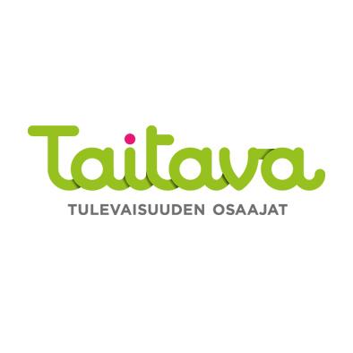 Helsingin kaupungin opetusviraston Taitava-hankkeelle suunniteltu logo.