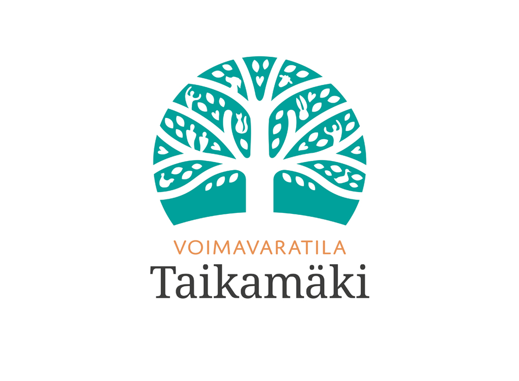 Voimavaratila Taikamäen logo.